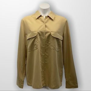 TRADITION Rayon Oxford Style Blouse Size 18